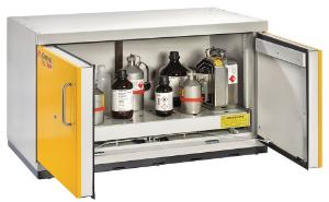 Safety underbench cabinets, type 90, UTS ergo line LT, 600 mm depth