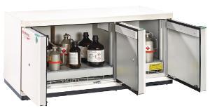 Safety underbench cabinets, type 90, UTS ergo line XLT-5, 500 mm depth