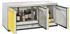 Safety underbench cabinets, type 90, UTS ergo line XL, 600 mm depth