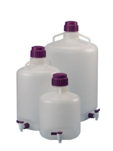 Round carboy with spigot group