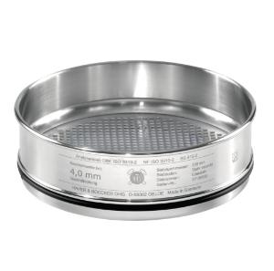 Test sieves, 203×50 mm, with square holes