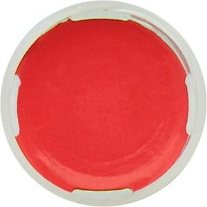 Snap ring closure, N 11, PE(hard),transp.,center hole,Silicone white/PTFE red,1,0 mm