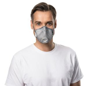Disposable particle filtering half mask