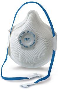 Disposable particle filtering respirators, FFP1/FFP2, Smart