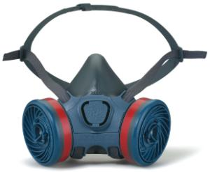 Half masks against gas, vapour and dust, 7000 series