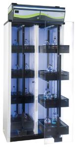 Ductless filtering chemical storage cabinets, Captair® Smart