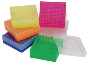 Boxy pro skladování vialek/láhví se vzorky