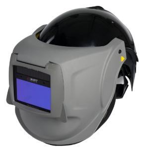Respiratory helmets with visors for PAPR, FH6 and FH61 to FH65