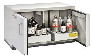 Safety underbench cabinets, type 90, UTS ergo line LD, 600 mm depth